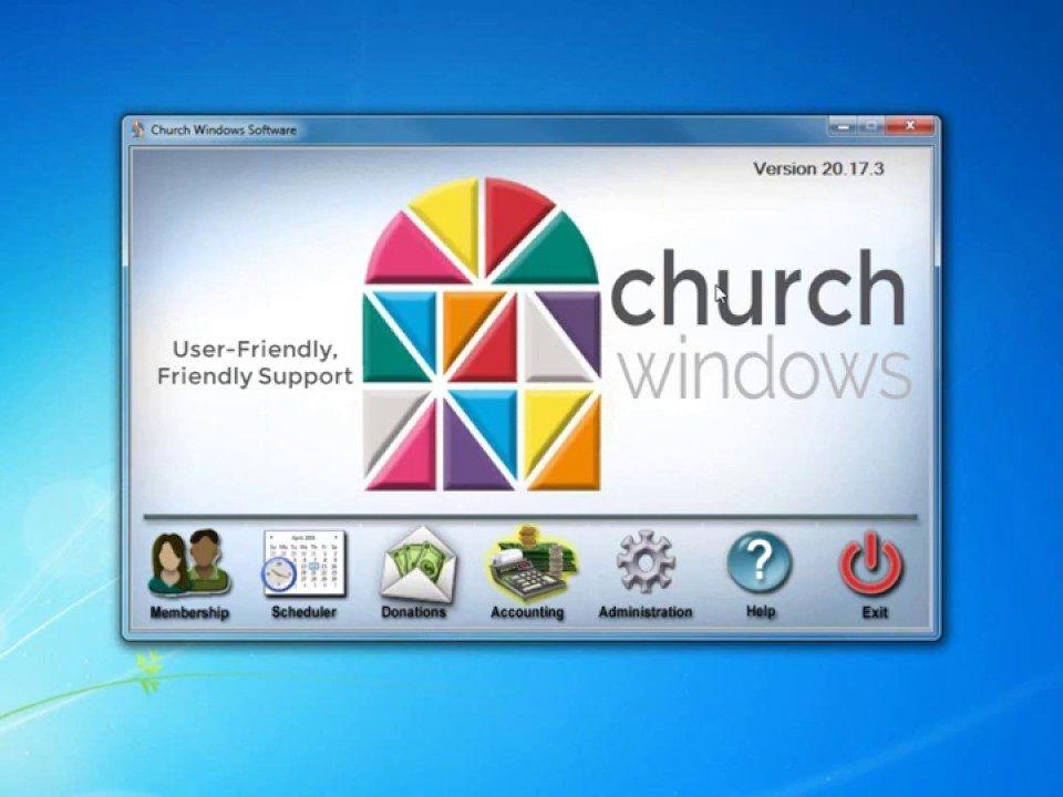 church windows v21 membership families