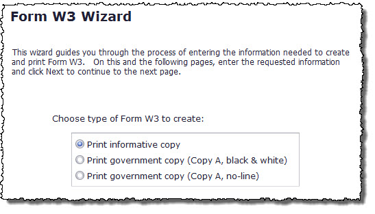 Tax Forms Printing